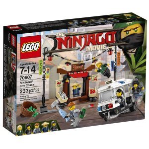 70607 LEGO NINJAGO MOVIE PERSEGUIÇÃO NA CIDADE DE NINJAGO