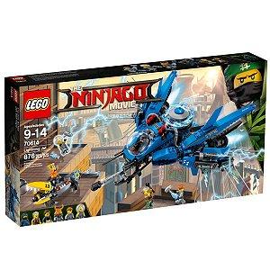 70614 LEGO NINJAGO MOVIE JATO RELÂMPAGO DO NINJA AZUL
