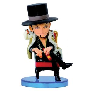 30231 BANPRESTO ONE PIECE WCF LOG COLLECTION V1 LUCCI 8CM