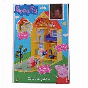 4206 PEPPA PIG CASA COM JARDIM DA PEPPA