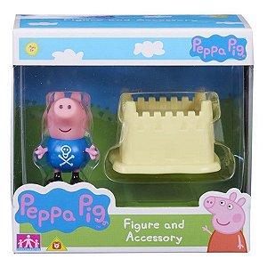 4199 PEPPA PIG JORGE COM CASTELO DE AREIA