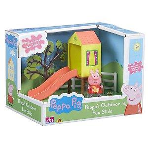 4205 PEPPA PIG ESCORREGA E LAGO COM PEPPA