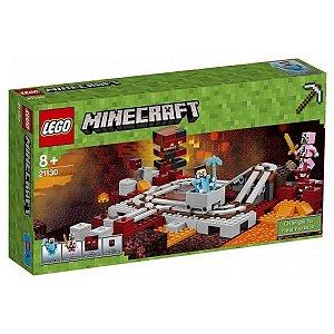 21130 LEGO MINECRAFT A FERROVIA DO NETHER