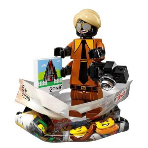 71019 LEGO NINJAGO FILME MINIFIGURA GARMADON FLASHBACK
