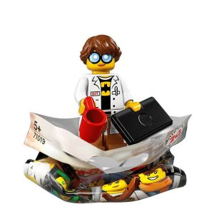 71019 LEGO NINJAGO FILME MINIFIGURA TÉCNICO DE GPL