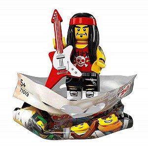 71019 LEGO NINJAGO FILME MINIFIGURA GONGO E GUITARRA