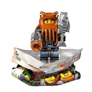 71019 LEGO NINJAGO FILME MINIFIGURA POLVO DOS TUBARÕES
