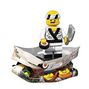 71019 LEGO NINJAGO FILME MINIFIGURA CHEFE SUSHI