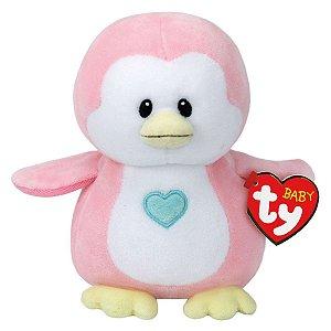 4318 TY BABY TY PINGUIM ROSA PENNY