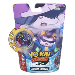 B5937 YO-KAI WATCH FIG C/ MEDALHAS - BADDINYAN