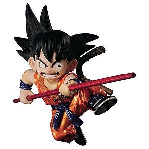 26175 BANPRESTO DRAGON BALL SCULTURES METALLIC KID SON GOKU