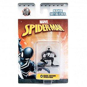 4279 MARVEL METAL NANO 5CM BLACK COSTUME SPIDER-MAN MV2