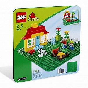 12304 LEGO DUPLO BASE DE CONSTRUÇÃO VERDE GRANDE