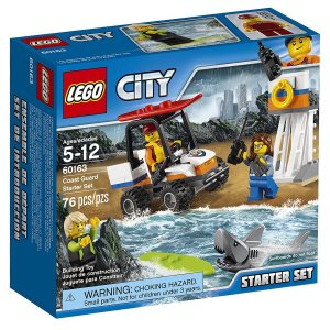 60163 LEGO CITY CONJUNTO BÁSICO DA GUARDA COSTEIRA