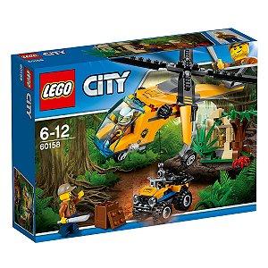 60158 LEGO CITY HELICÓPTERO DE CARGA DA SELVA
