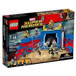 76088 LEGO MARVEL THOR VS HULK CONFRONTO NA ARENA