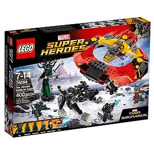 76084 LEGO MARVEL O Grande Combate por Asgard