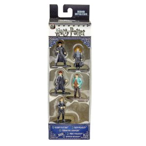 4288 HARRY POTTER METAL NANO 5CM PACK A COM 5 FIGURAS