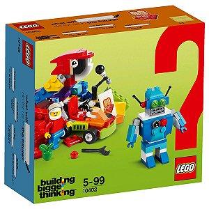 10402 LEGO ANIVERSÁRIO 60 ANOS DIVERSÃO DO FUTURO