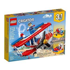 31076 LEGO CREATOR AVIÃO DE ACROBACIAS OUSADAS