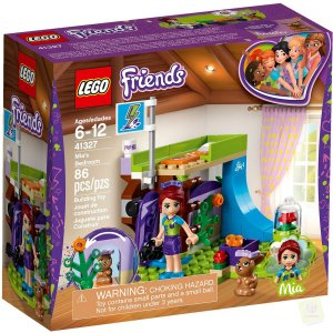 41327 LEGO FRIENDS O QUARTO DA MIA