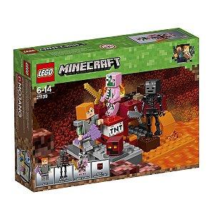 21139 LEGO MINECRAFT O COMBATE DE NETHER