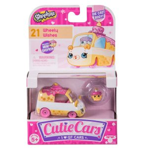4559 SHOPKINS CUTIE CARS VAN WHEELY WISHES