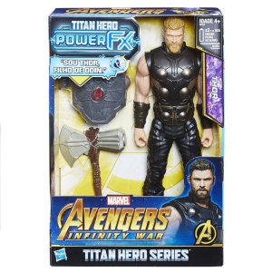 E0616 MARVEL TITAN HERO 30CM POWER FX THOR