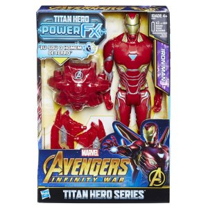 E0606 MARVEL TITAN HERO 30CM POWER FX HOMEM DE FERRO