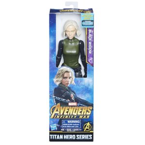 E2170 MARVEL TITAN HERO 30CM BLACK WIDOW