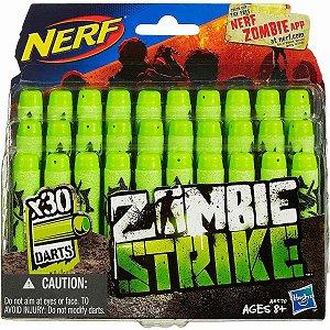 A4570 NERF ZOMBIE STRIKE DARDOS - REFIL COM 30