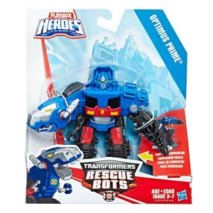A7024 TRANSFORMERS PLAYSKOOL RESCUE BOTS - OPTIMUS PRIME T-REX