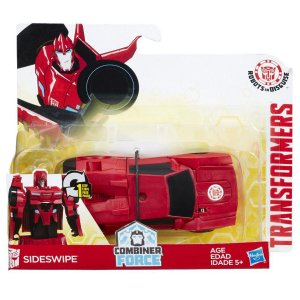 B0068 TRANSFORMERS ROBOTS IN DISGUISE COMBINER SIDESWIPE