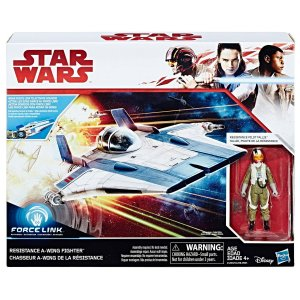 C1248 STARWARS VEÍCULOS FORCE LINK RESISTANCE A-WING FIGHTER
