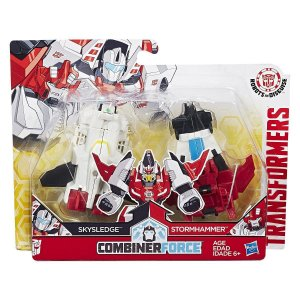 C0628 TRANSFORMERS ROBOTS IN DISGUISE SKYSLEDGE STORMHAMMER