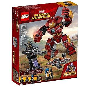 76104 LEGO MARVEL O ATAQUE DESTRUIDOR DE HULKBUSTER