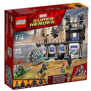 76103 LEGO MARVEL ATAQUE AVASSALADOR DE CORVUS GLAIVE
