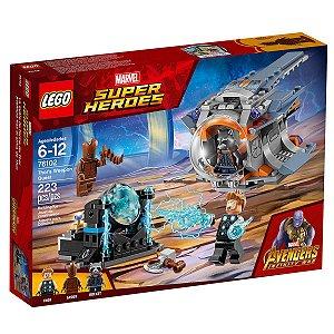76102 LEGO MARVEL PROCURA DA ARMA DE THOR