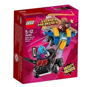 76090 LEGO MARVEL MIGHTY MICROS: SENHOR-DAS-ESTRELAS VS. NEBULA