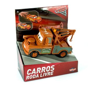 29501 DISNEY CARROS RODA LIVRE TOW MATER 12CM