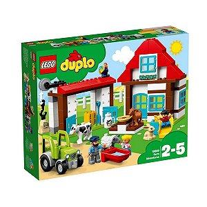 10869 LEGO DUPLO AVENTURAS NA FAZENDA