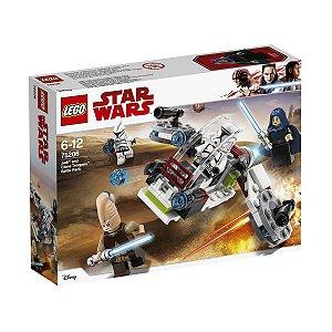 75206 LEGO STARWARS COMBATE JEDI E CLONE TROOPERS