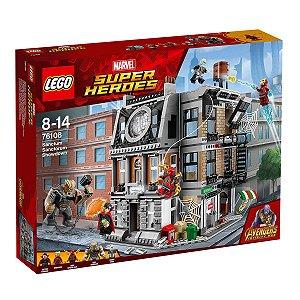 76108 LEGO MARVEL O CONFRONTO SANCTUM SANCTORUM