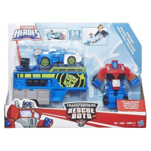B5584 TRANSFORMERS PLAYSKOOL TRAILER DO OPTIMUS PRIME