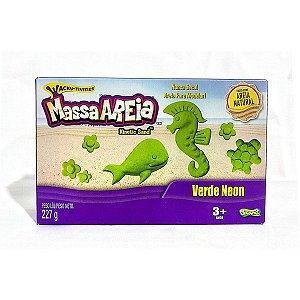 1801 MASSA AREIA CORES NEON VERDE 227G