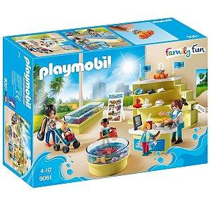 9061 PLAYMOBIL FAMILY FUN LOJA DE AQUÁRIOS