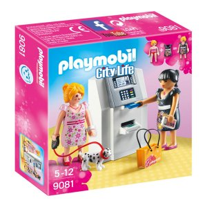 9081 PLAYMOBIL CITY LIFE CAIXA ELETRONICO