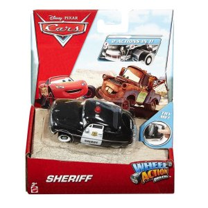 DKV38 DISNEY CARROS WHELL ACTION DRIVERS XERIFE