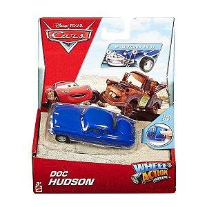 DKV38 DISNEY CARROS WHELL ACTION DRIVERS DOC HUDSON