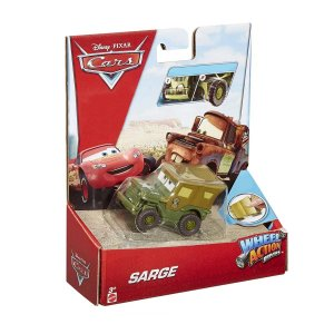 DKV38 DISNEY CARROS WHELL ACTION DRIVERS SARGENTO